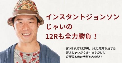 インスタントジョンソンじゃいの2017年12月28日(日)中山・阪神12R予想!